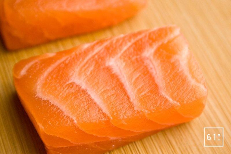 Détail saumon saumuré