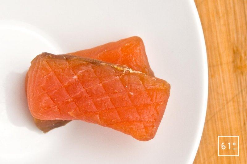 Saumon seché