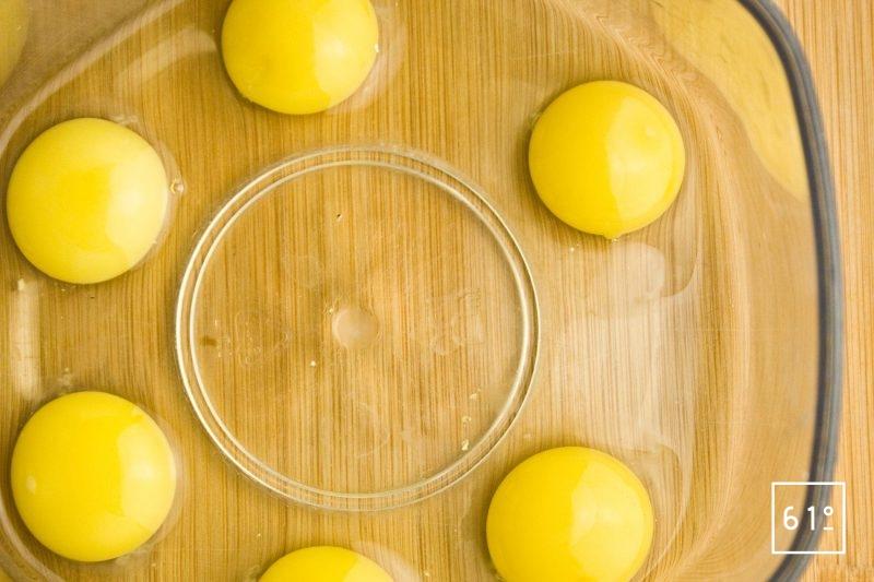 Préparer les œufs de caille