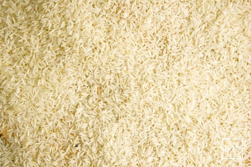 Déposer le riz