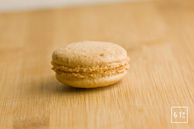 Macaron cacahuète