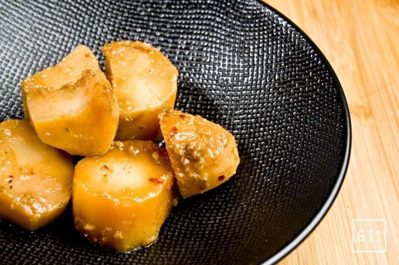 Pommes de terre confites dans la graisse de veau