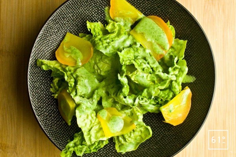 Salade à la sauce salade