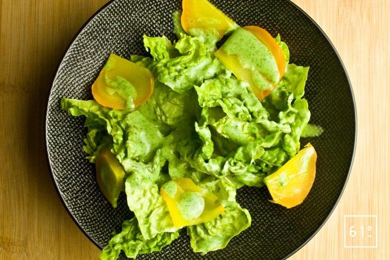 Salade sauce salade