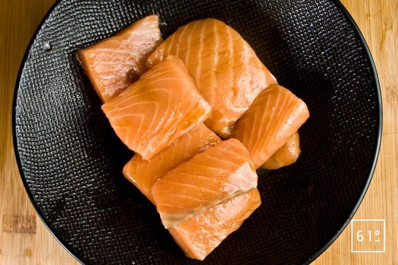 Saumon mode japonaise