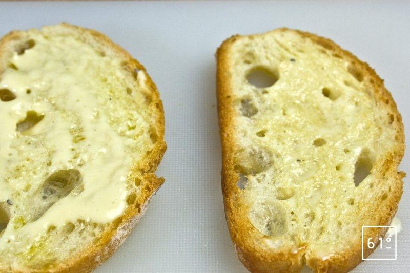 Etaler la mayonnaise