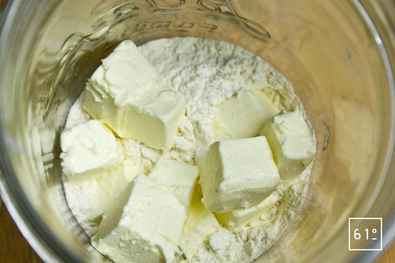Beurre et farine pour faire un roux