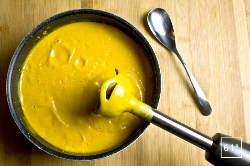 Soupe de butternut cuite