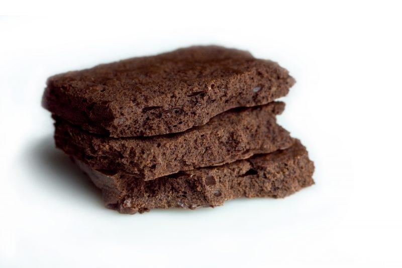 Mousse au chocolat déshydratée