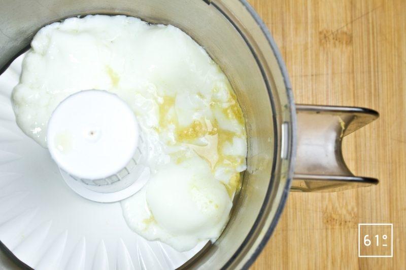 Faire une mayonnaise