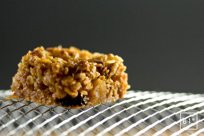 Laisser refroidir les blocs de céréales