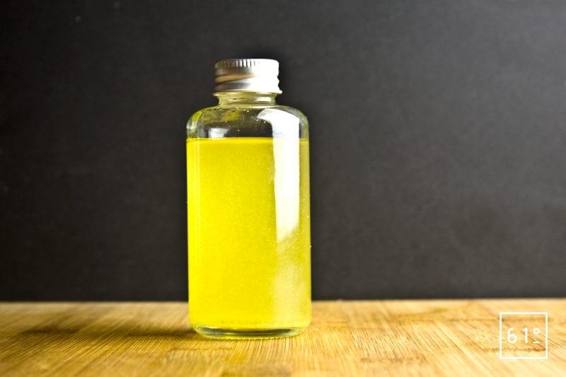 Fiole de vinaigre de citron