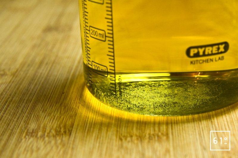 Ajouter le sucre, le glucose et l'acide citrique au Jurançon