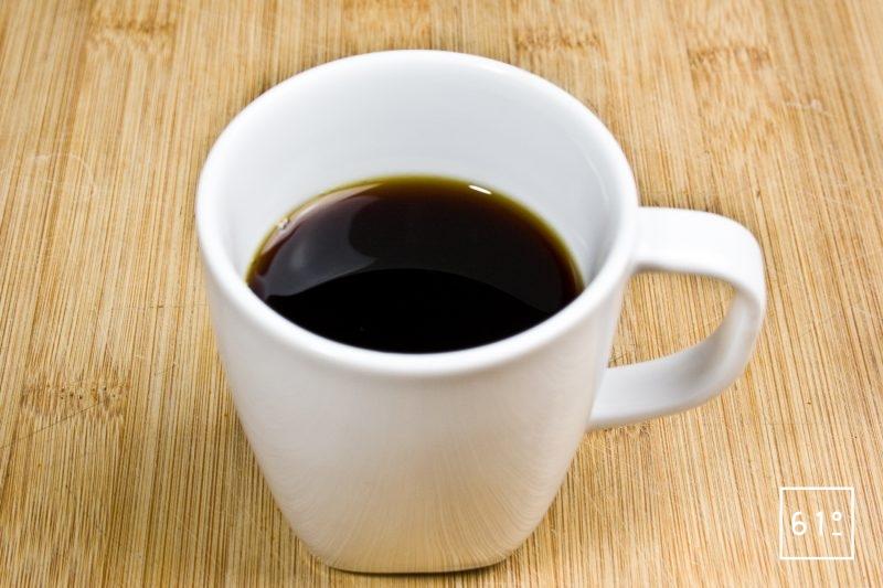 Café infusé à froid sous vide