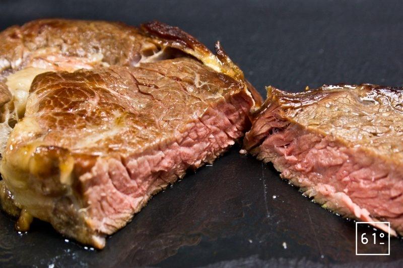 Côte de bœuf maturée 45 jours au sel de l'Himalaya
