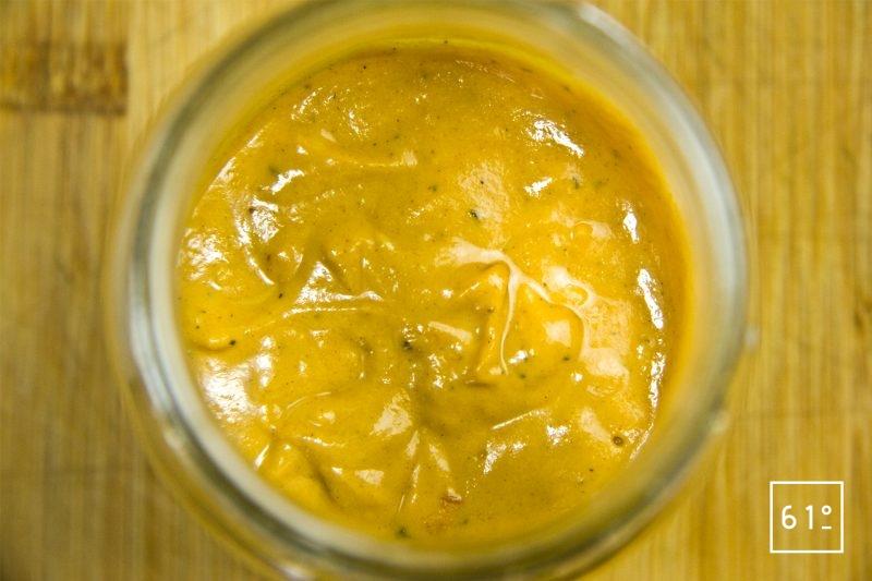 Sauce barbecue BBQ Carolina Gold Cuite