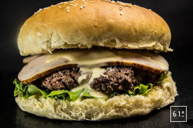 Burger à la salade César - burger à la salade César