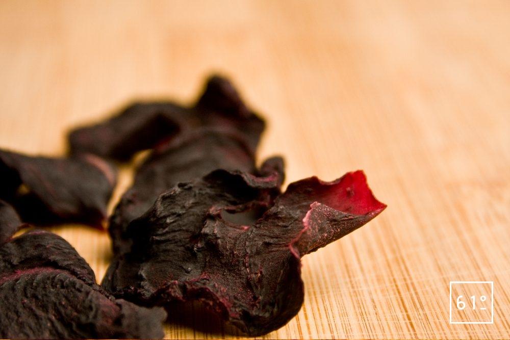 Chips de betterave déshydratées