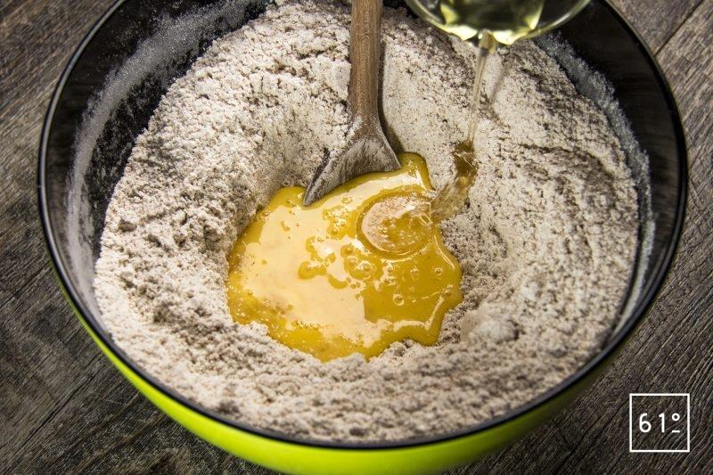 Rajouter l'huile de colza au pain de mie