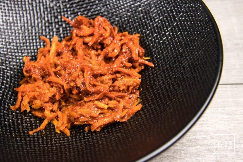 Carottes au paprika lactofermentées