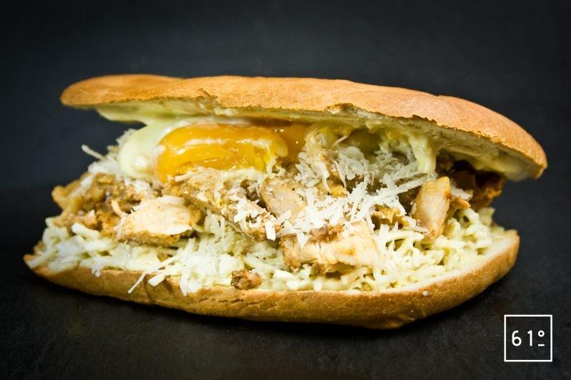 Sandwich porchetta céleri rémoulade
