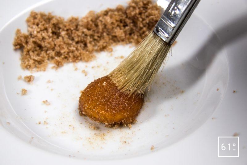 Enlever le sel de Katsuobushi du jaune d'œuf