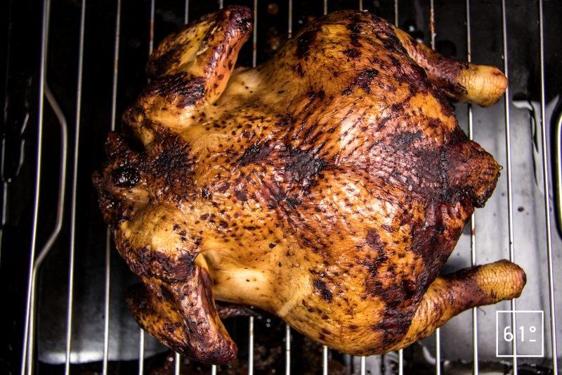 Cuire au four le poulet