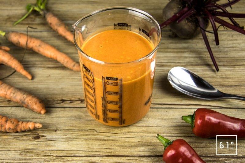 Sauce tomate et poivron