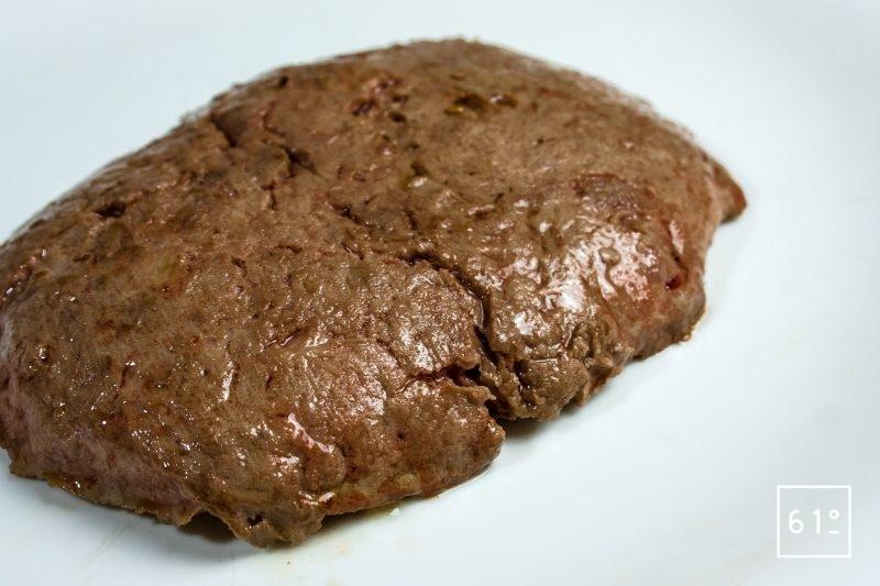 Steak haché de canard