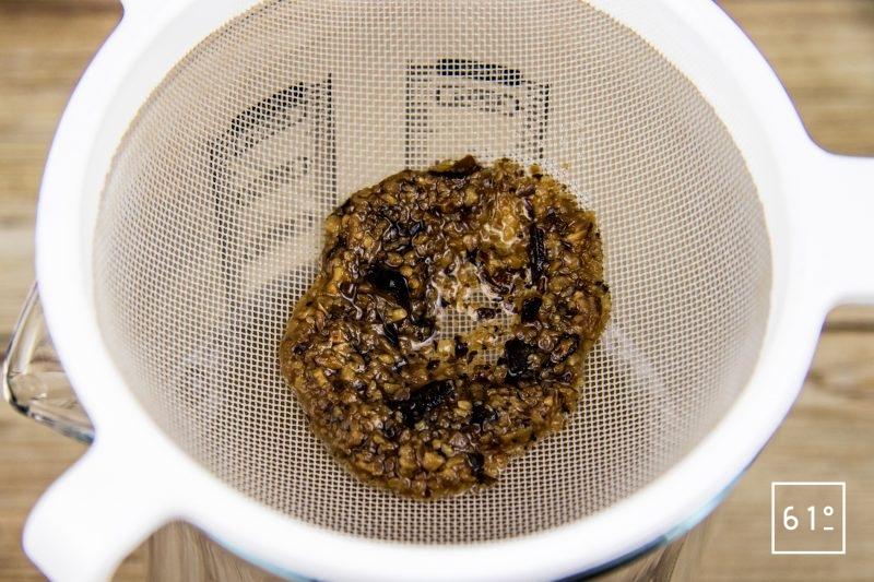 Mousse de chocolat à la fève tonka-Filtrer