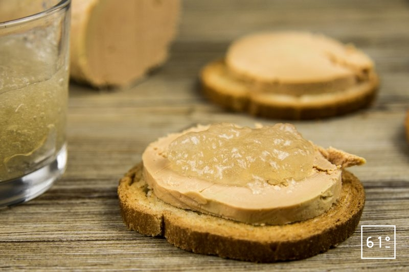 Gelée de coteaux du Layon - servir avec du foie gras
