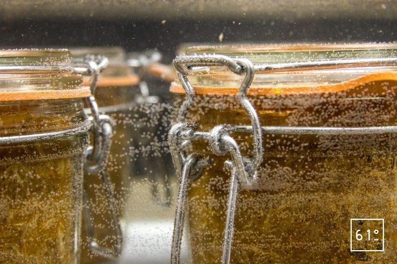 Rillettes de porc au Coteaux du Layon et paprika - stériliser les pots de rillettes