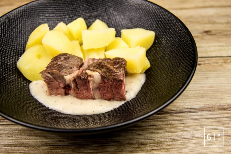 Sauce au poivre pour napper une côte de bœuf par exemple
