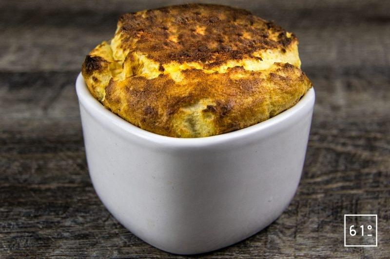 Soufflé aux fromages