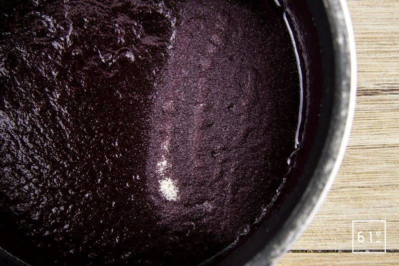 Conchiglionis farcis à la hampe et au foie gras - ajouter l'épaississant