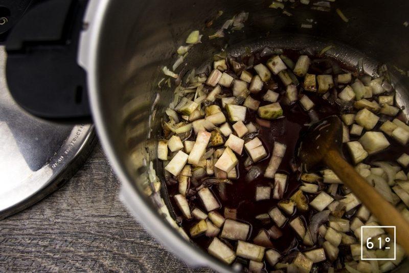 Jambon persillé sans nitrite ou nitrate - ajouter le vin