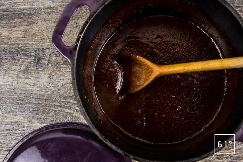 Sauce barbecue Memphis - cuire à feu doux