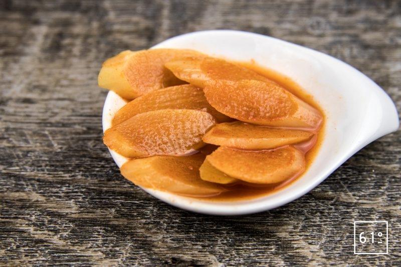 Pickles d'asperge au pimenton de Vera - paprika fumé d'Espagne