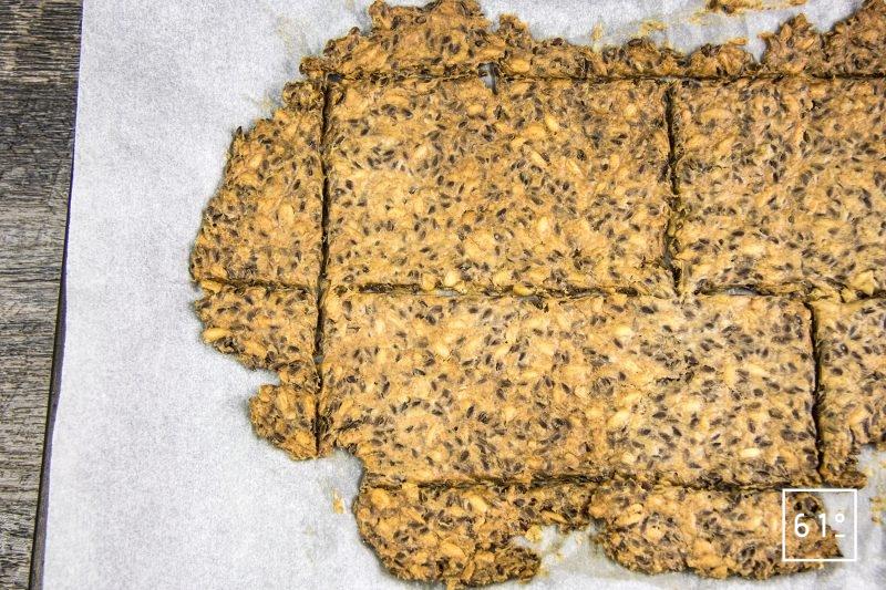 Knäckebröd - pain cracker suédois -cuire