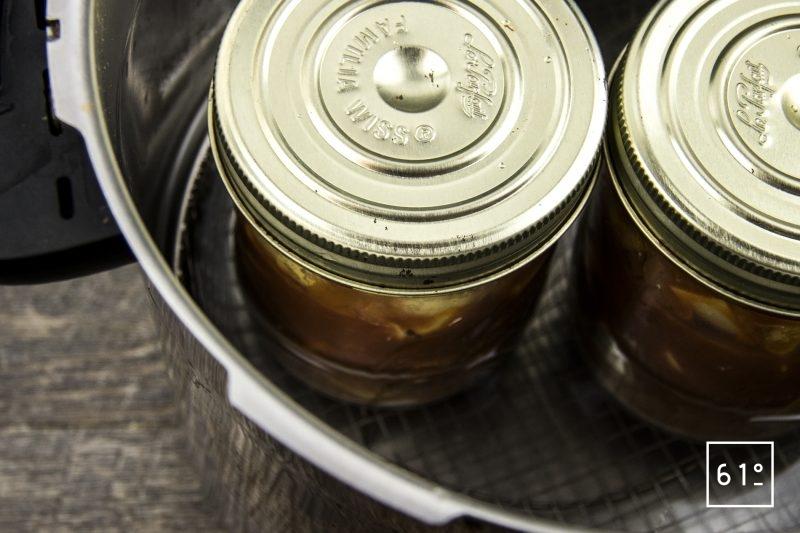 Rouille sétoise - cuire sous pression les pommes de terre