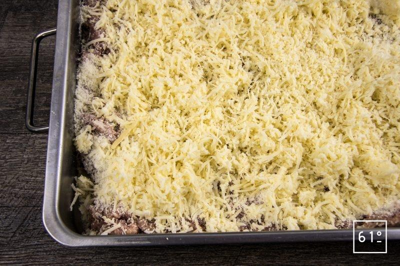 Saucisses au Savagnin et au Comté - ajouter les fromages