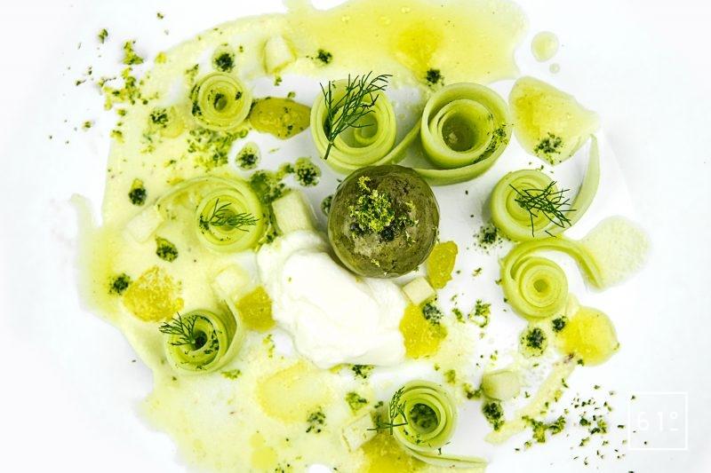 Foie gras et ses déclinaisons de concombre