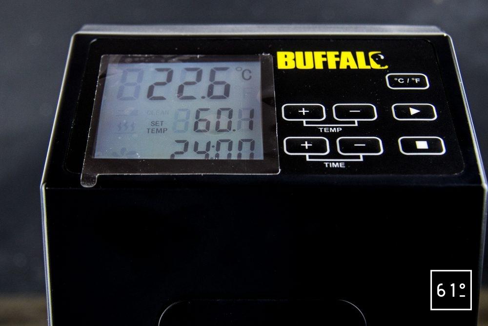Thermoplongeur Buffalo - écran LCD