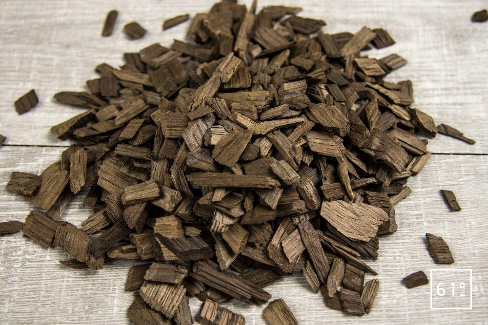 Fumage en cuisine - Les copeaux de bois toastés