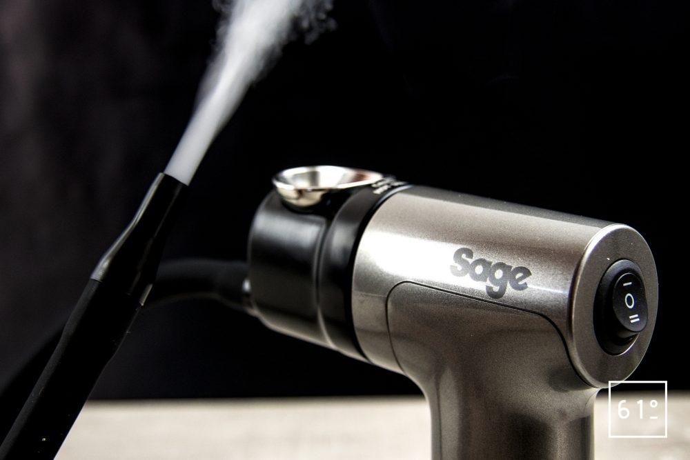 Pistolet de fumage SAGE - fumée