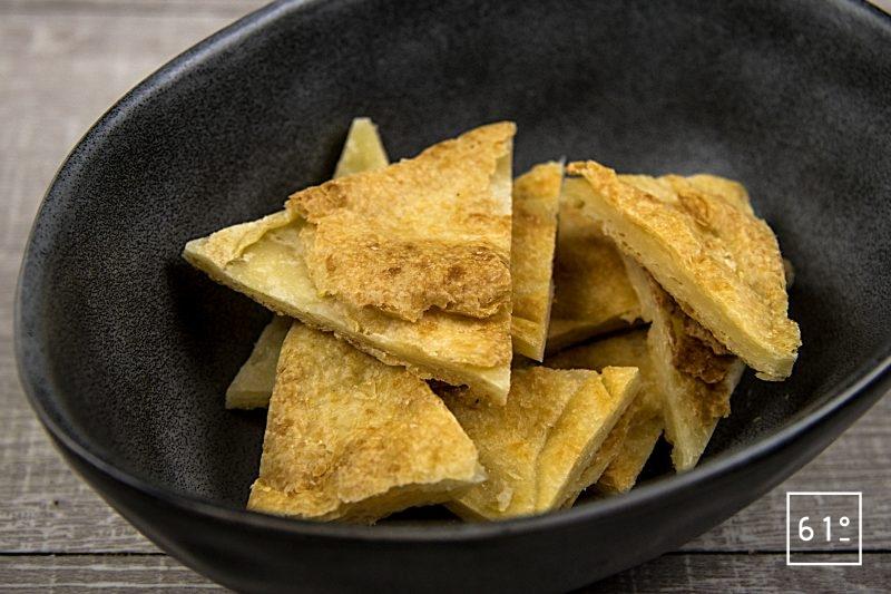 cracker au parmesan