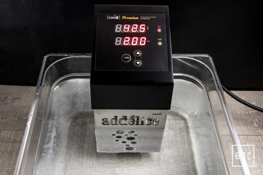 review du thermoplongeur Swid Premium de Addélice