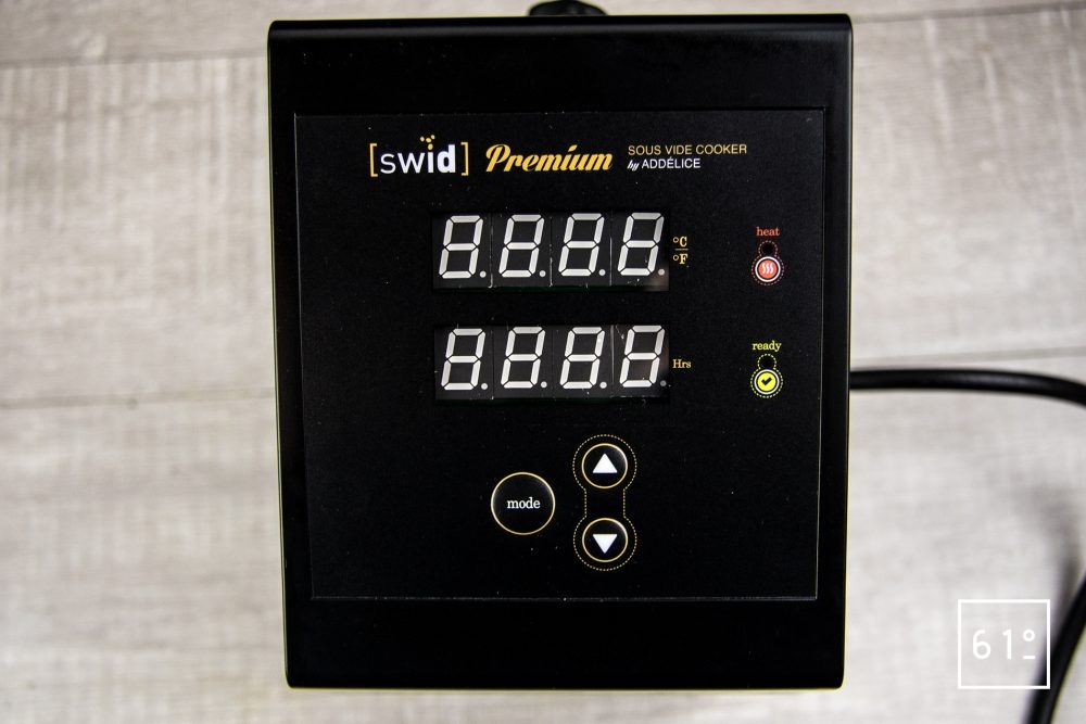 Thermoplongeur à platine Swid Premium - le boitier de contrôle