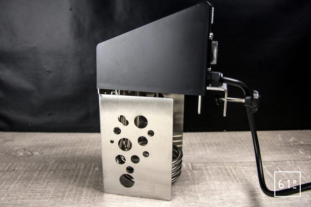 Thermoplongeur à platine Swid Premium - de côté