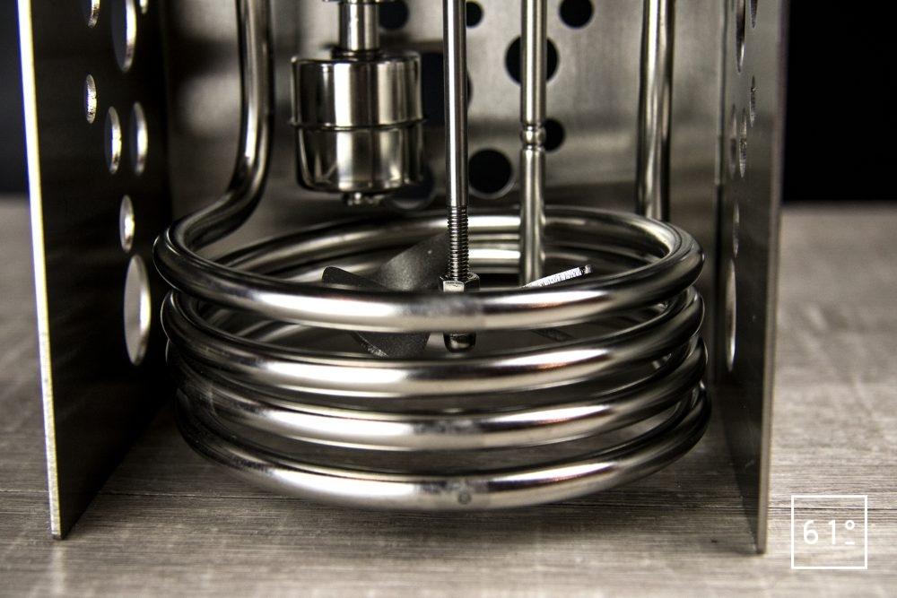 Thermoplongeur à platine Swid Premium - l'ensemble de chauffe, de mesure thermique et de brassage d'eau